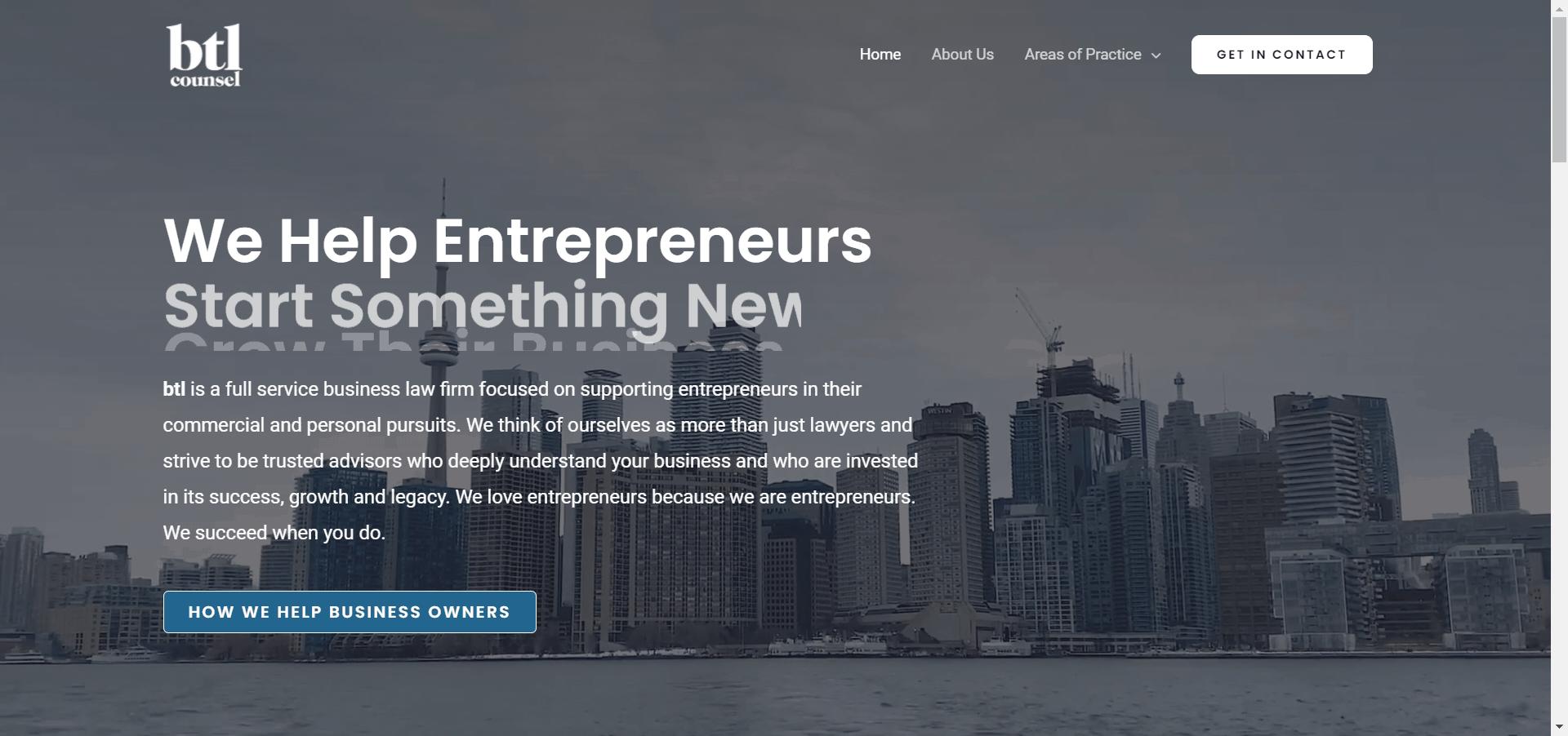 BTL Homepage