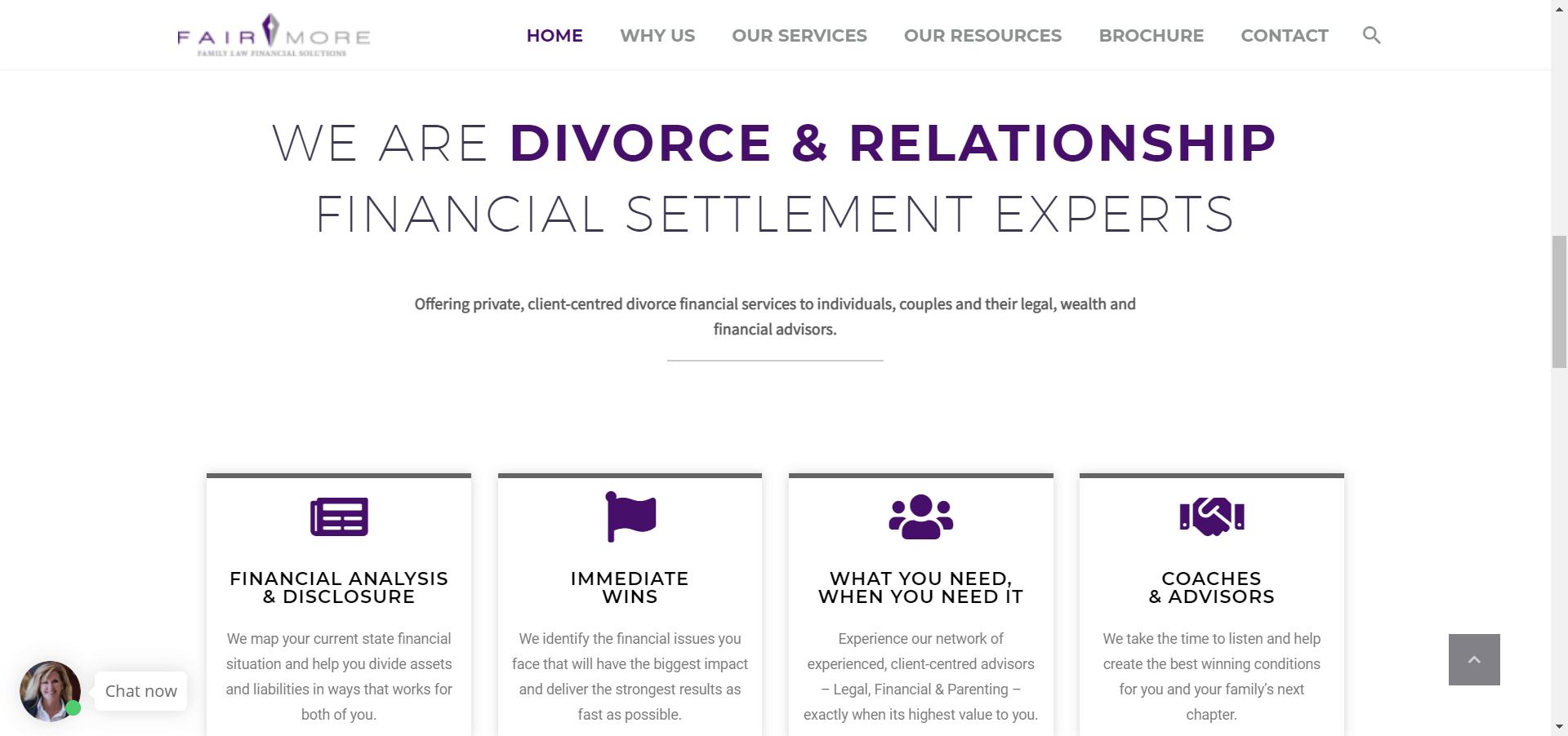 Fairmore Homepage